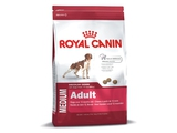 Karma Royal Canin Dog Food Medium Adult 15kg + DOLINA NOTECI PIPER z sercami z kurcz i ryżem 400g - 3182550402217