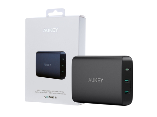 AUKEY 3XUSB POWER DELIVERY 7.8A 72W PA-Y12