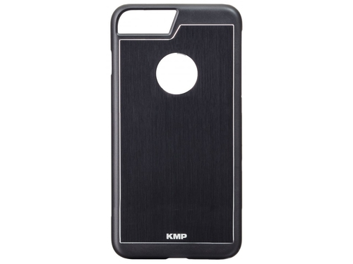 Etui aluminiowe KMP 1416640201 do iPhone 7 Plus kolor czarny