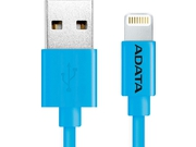 ADATA Kabel Sync and Charge Lightning, USB, MFi (iPhone, iPad, iPod), Niebieski - AMFIPL-100CM-CBL