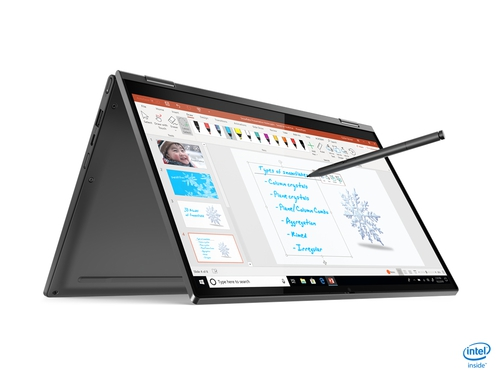"Lenovo Yoga C640-13IML i3-10110U 13.3"" FHD IPS Anti-glare 8GB DDR4-2400 256GB SSD M.2 2242 NVMe ntel UHD Graphics Windows 10 Home 64, Polish 81UE005VPB Iron Grey"