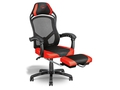 FOTEL GAMINGOWY GXT 706 Rona Gaming Chair with Foot + Mata pod fotel gamingowy TRUST GXT 715 + Biurko gamingowe TRUST GXT 711 - 22980