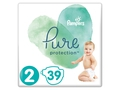 Pampers Pure Protect Pieluchy Rozm. 2, 4-8kg, 39szt - 8001090834782