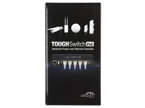 Switch UBIQUITI ToughSwitch TS-5-POE 1x 10/100Mbps 5x 10/100/1000Mbps