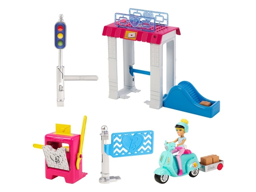 Mattel Barbie On The Go Poczta FHV85 - 887961529944