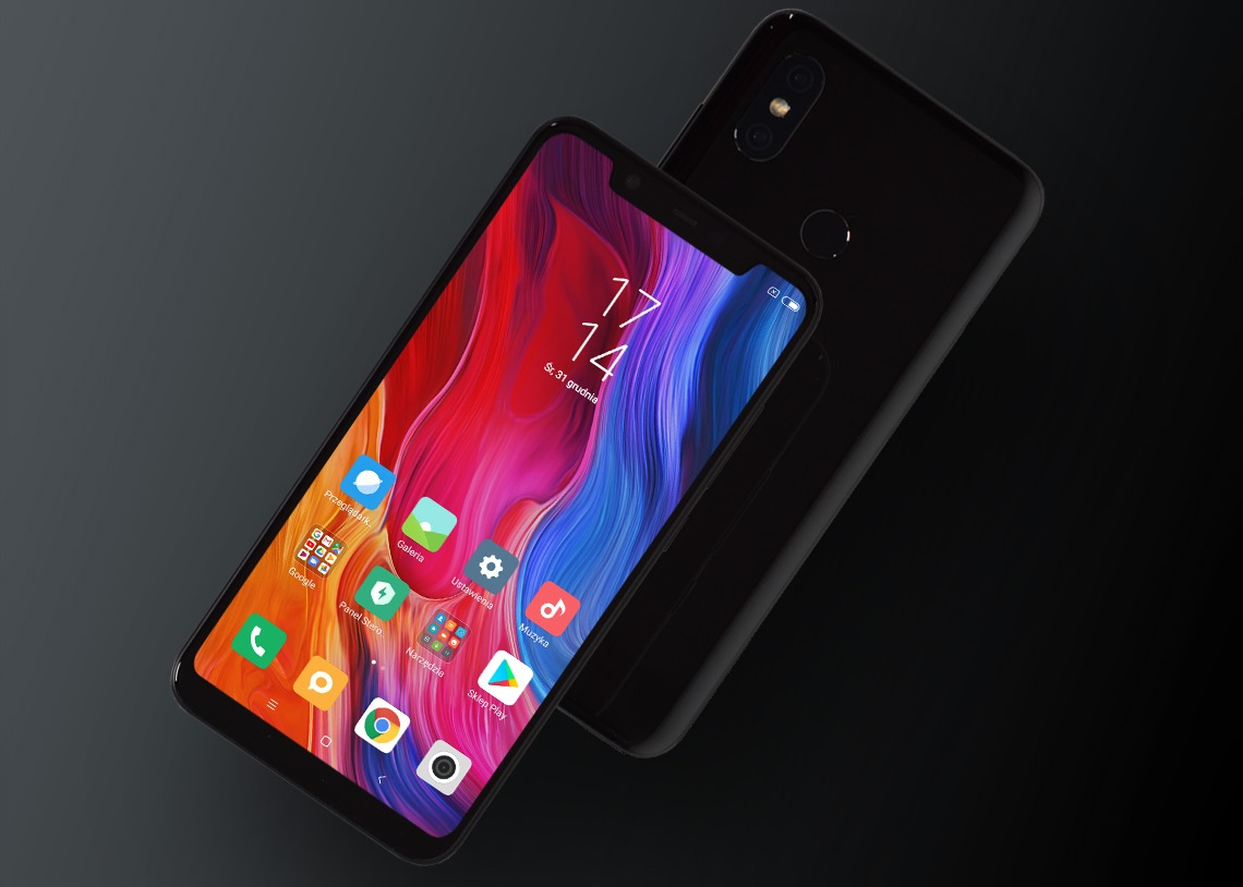 #Xiaomi Mi 8 64GB Black DS