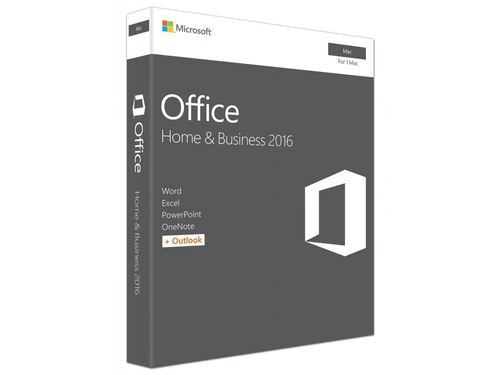 Microsoft Office Mac Home Business 2016 English Medialess P2 - W6F-00952