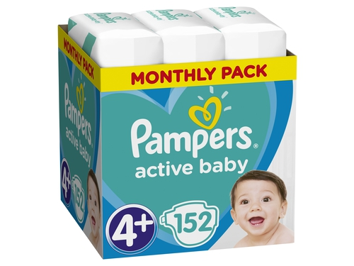 Pampers Pieluchy ABD Monthly Box 152