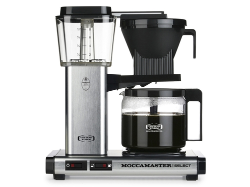 Moccamaster KBG 741 Select - Silver Brushed - 8712072539792