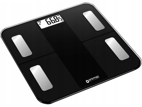 Waga łazienkowa ORO-SCALE BLUETOOTH BLACK - ORO-SCALE BLACK