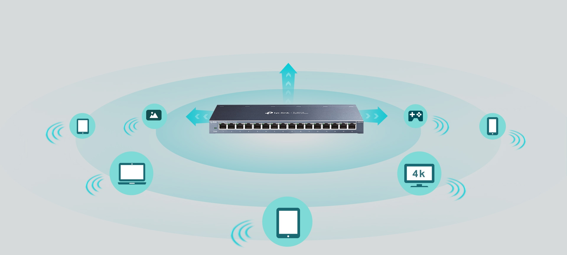 #Switch TP-LINK TL-SG116