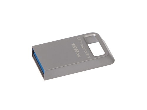 Pendrive Kingston DataTraveler Micro 128GB USB 3.1 srebrny - DTMC3/128GB