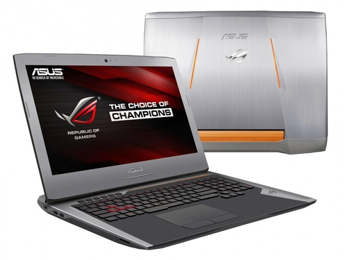"""Laptop gamingowy Asus G752VY-GC110T Core i7-6700HQ 17,3"""" 8GB HDD 1TB GeForce GTX980M Win10"""