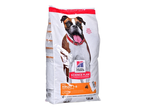 HILL'S Canine Adult Light 14kg - 052742025834