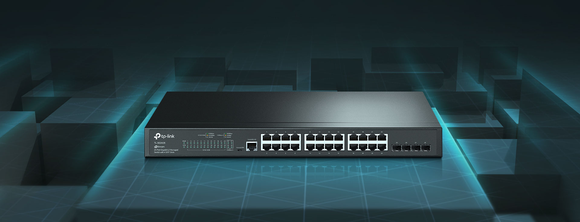 Switch TP-LINK TL-SG3428 1