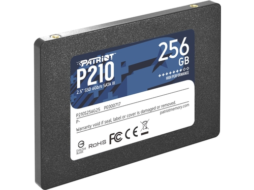 SSD Patriot P210 256GB SATA3 2.5 - P210S256G25