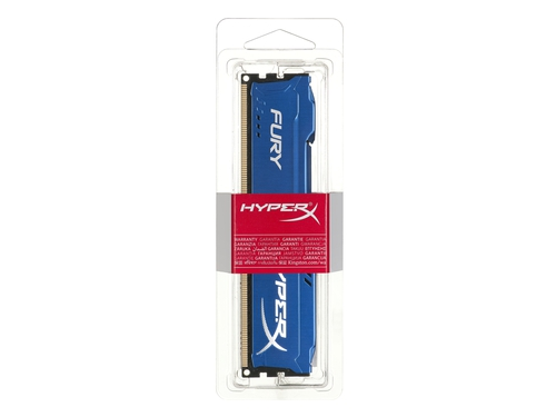 Pamięć RAM Kingston HyperX FURY DDR3 1600 MHz 8GB CL10 Niebieski - HX316C10F/8