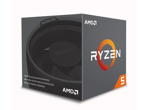 PROCESOR AMD RYZEN 1600 3,6GHz BOX (AM4) - YD1600BBAFBOX