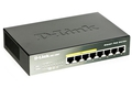 Switch D-Link DGS-1008P/E 8x 10/100/1000Mbps