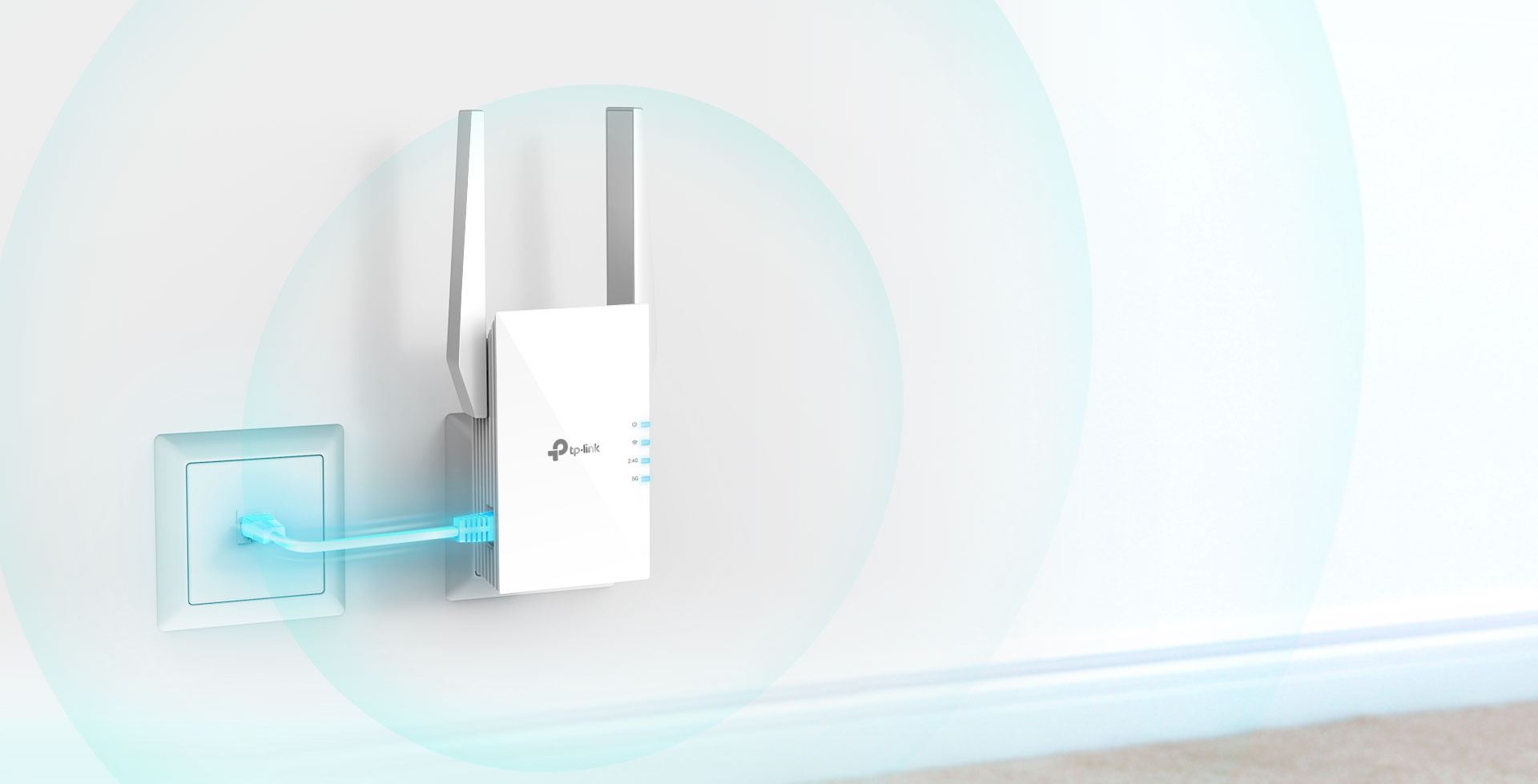 #Repeater TP-LINK RE605X