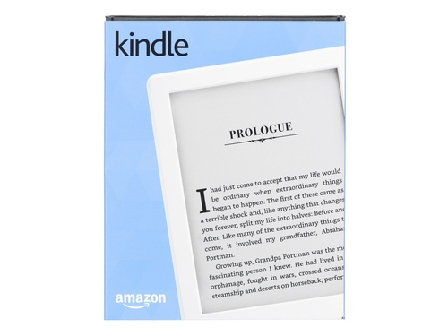 Czytnik ebook Kindle Touch 8 WiFi z reklamami Model 2016 Biały - CZYTNIKEBOOKKINDLE