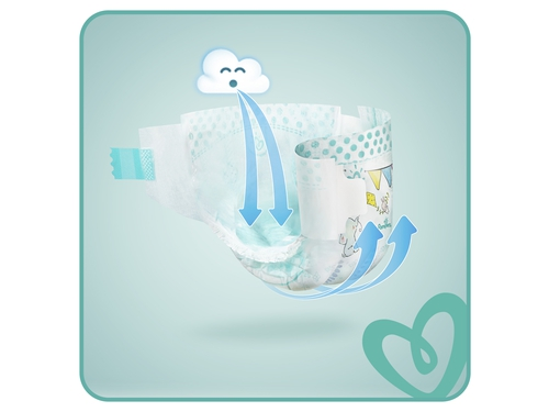 Pampers pieluchy ABD Monthly Pack size 7 112szt