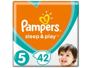 Pampers pieluchy Sleep&Play VP Junior 5 42szt