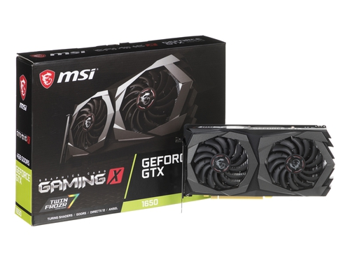 Karta graficzna MSI GeForce GTX 1650 GTX 1650 GAMING X 4G 4GB GDDR5 8000 MHz 128-bit