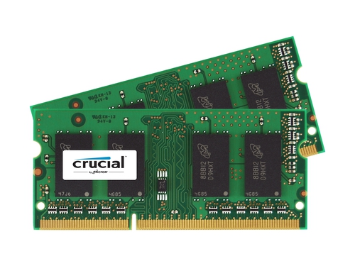 CRUCIAL SODIMM DDR3 2x8GB 1600MHz CL11 - CT2KIT102464BF160B