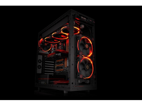 Wentylator do obudowy Thermaltake Riing 14 LED Red CL-F039-PL14RE-A