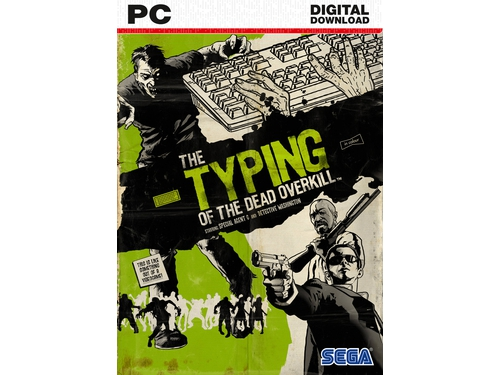 Gra PC Typing of the dead: Overkill - wersja cyfrowa