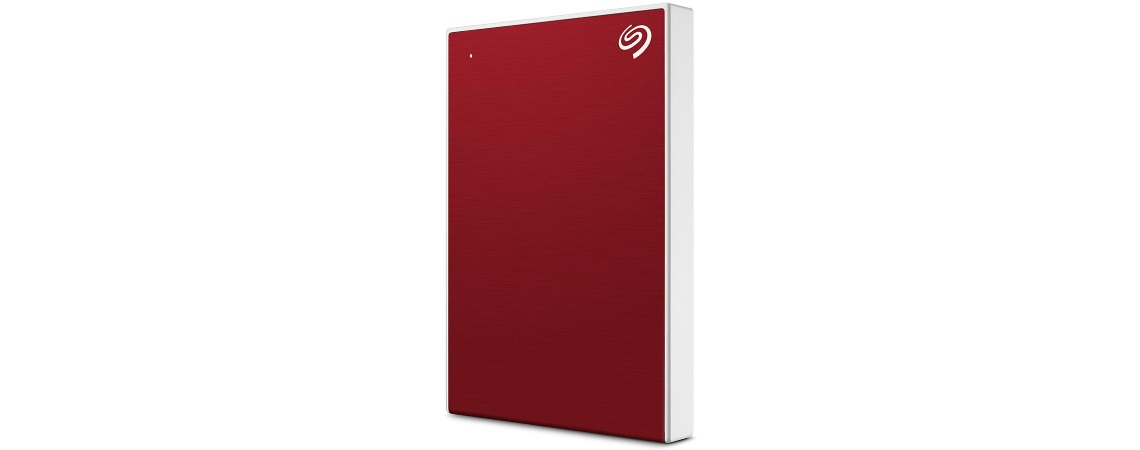 #Seagate Backup Plus Slim 1TB Red