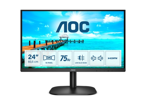 "MONITOR AOC LED 24"" 24B2XDAM"