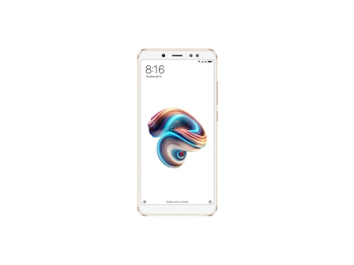 Smartfon XIAOMI Note 5 32GB Bluetooth WiFi GPS LTE DualSIM 32GB Android 7.0 kolor złoty