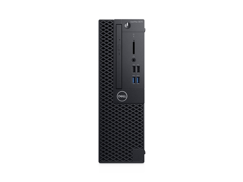 Dell Optiplex 3070 SFF i5-8500 8GB DDR4 256GB SSD Intel UHD 630 noDVDRW KB216 & MS116 W10Pro 3Y NBD KYHD - 53624176