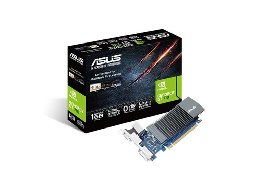 Karta graficzna Asus GeForce GT 710 1GB DDR3 - GT710-SL-1GD5