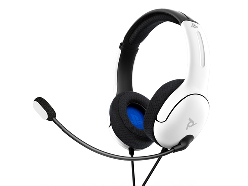 PDP Play Station 4 LVL40 Headset biały
