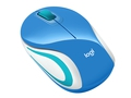 MYSZ LOGITECH Wireless Mini Mouse M187 BLUE - 910-002733