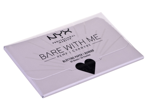 NYX BARE WITH ME HEMP BLOTTING PAPER