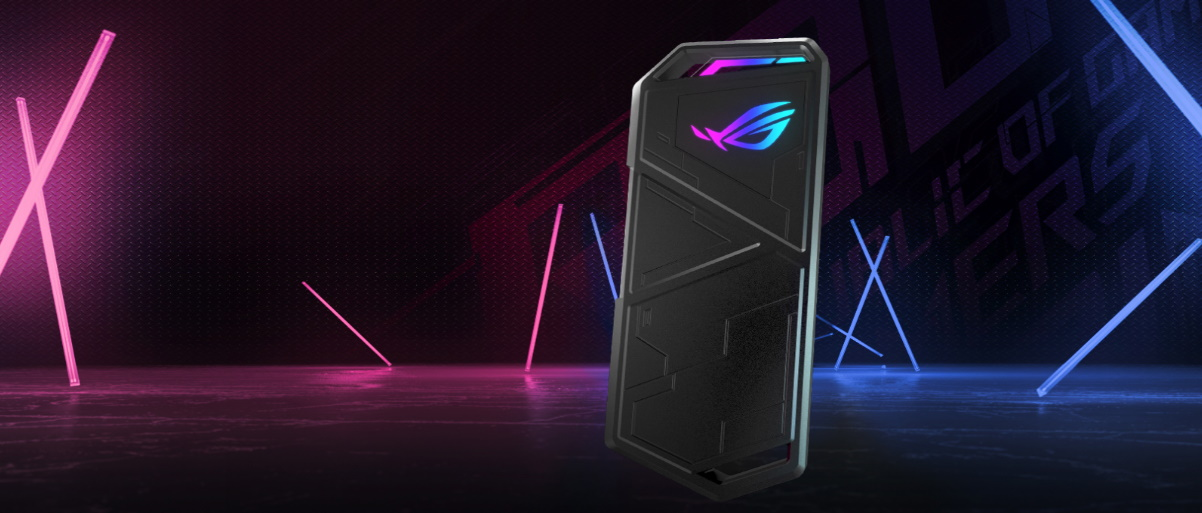 #Obudowa Asus ROG Strix Arion ESD-S1C/BLK/G/AS