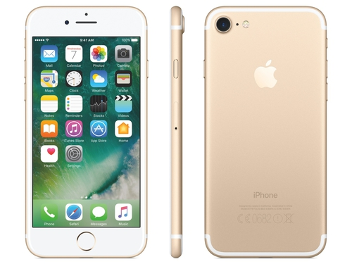 Smartfon Apple iPhone 7 MN902CN/A GPS Apple HomeKit LTE AirPlay WiFi NFC iBeacon Bluetooth 32GB iOS 10 złoty