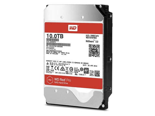 "Dysk HDD 10TB Western Digital Red Pro WD101KFBX 3.5"" 256 MB"