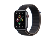 Apple Watch SE GPS + Cellular, 44mm Space Gray Aluminium Case with Charcoal Sport Loop - MYF12WB/A