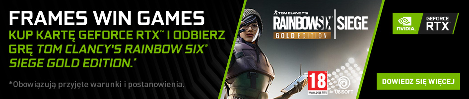 NVIDIA RTX bundle: Rainbow Six Siege Gold Edition