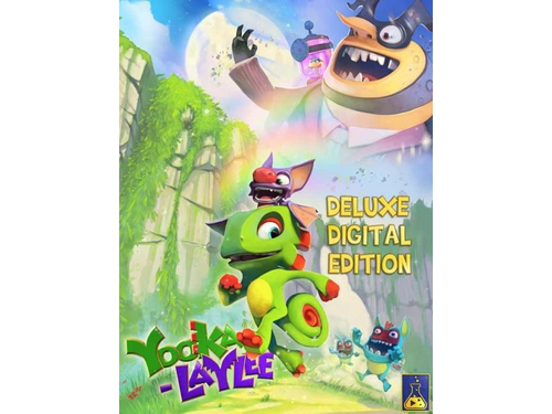 Gra PC Linux Mac OSX Yooka-Laylee - Deluxe Edition