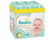 Pampers Premium Monthly Box Rozm. 4, 8-14kg 168szt - 8001090379511