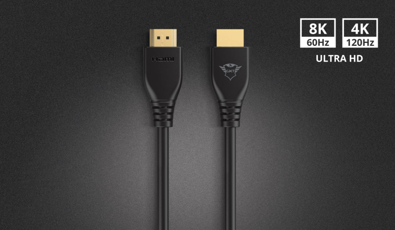 #KABEL TRUST GXT731 RUZA HIGH SPEED HDMI CABLE