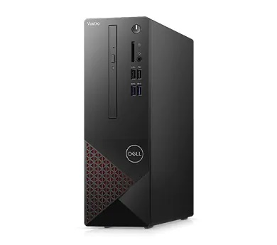 #DELL Vostro 3681 i3 i3-10100 4 GB DDR4-SDRAM 256 GB SSD SFF Black, Red PC Windows 10 Pro