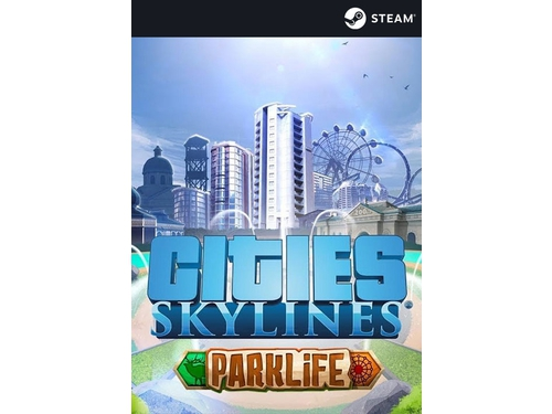 Gra PC Mac OSX Linux Cities: Skylines - Parklife wersja cyfrowa DLC