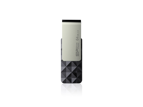 Silicon Power Blaze B30 64GB USB 3.1 TSOP Black - SP064GBUF3B30V1K